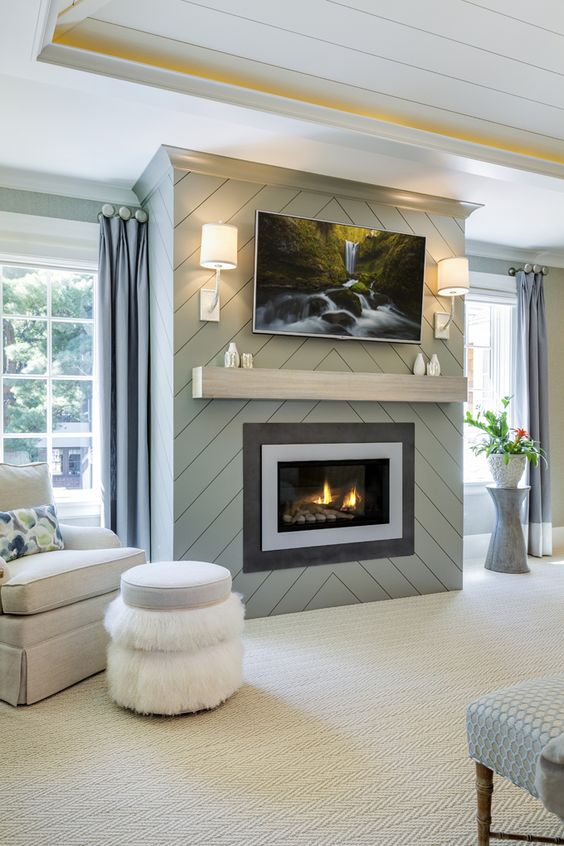 Cover Fireplace With Drywall Fireplace Facelifts (with How-to Links!) - Home By Hattan