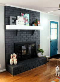 Fireplace Facelifts (with how-to links!) - Home By Hattan