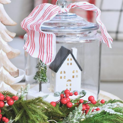 Christmas Sugar Jars