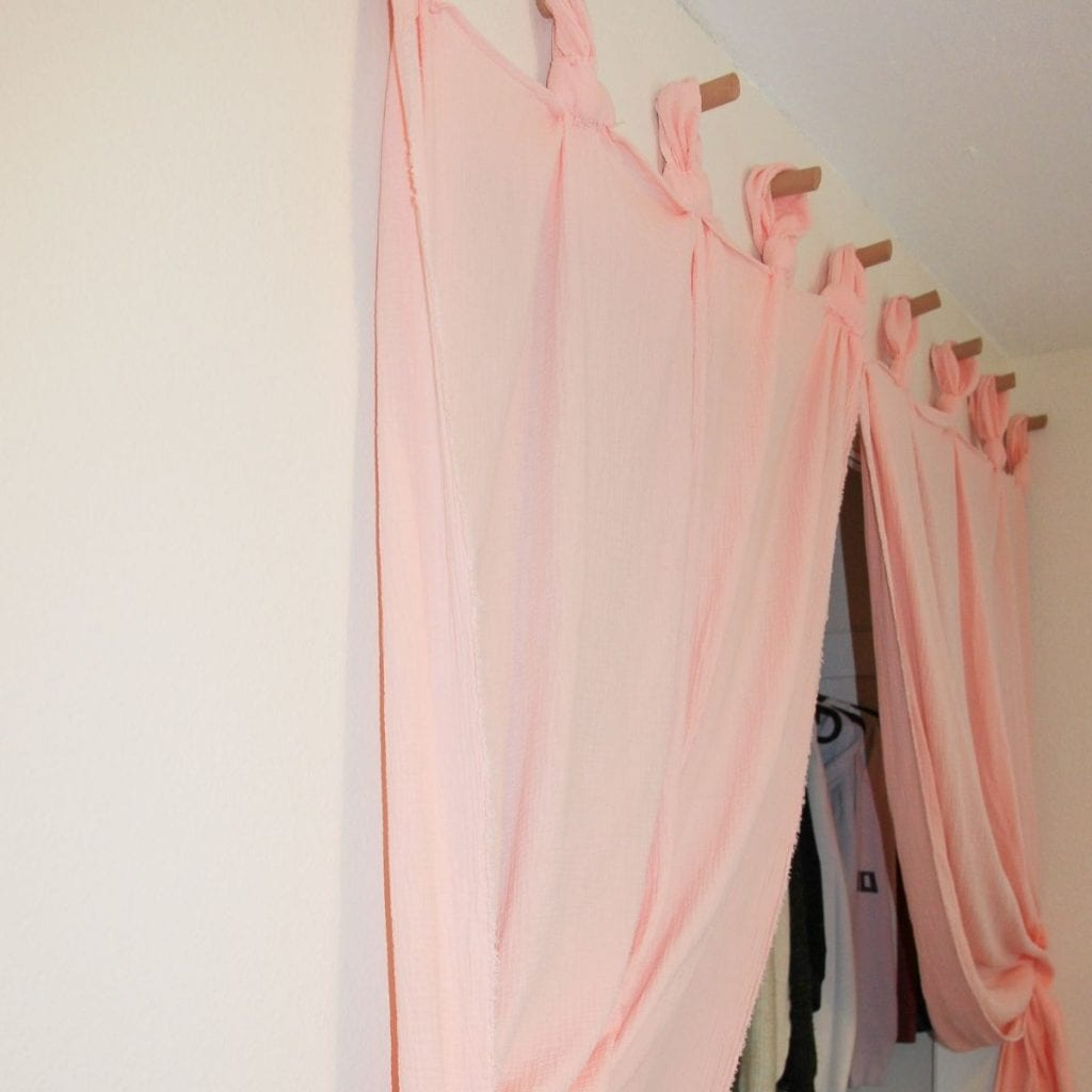 make curtains anthropologie inspired