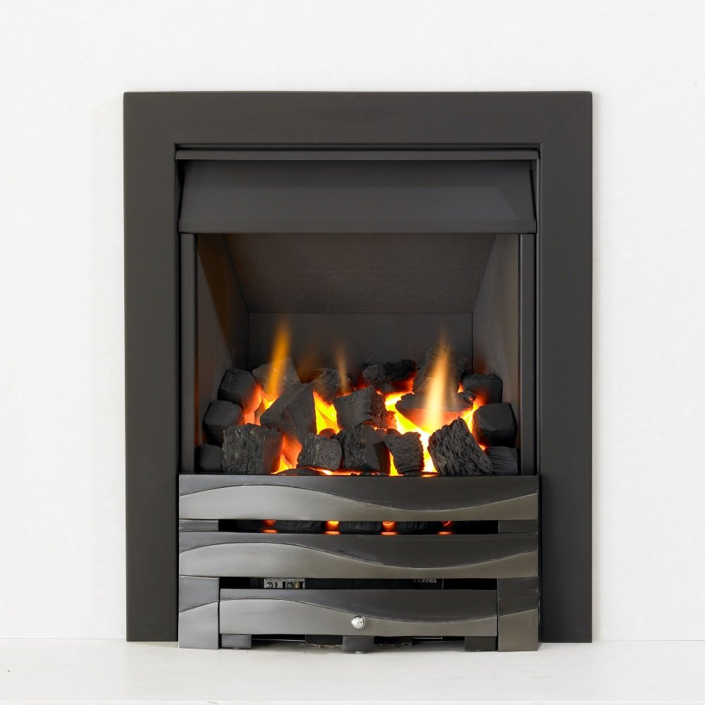 Kinetic Inset Open Fronted Manual Control Gas Fire Class 1 With Kinetic Inset Open Fronted Manual Control Gas Fire Class 1
