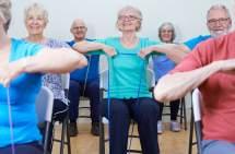 Senior Chair Exercise Band Exercises