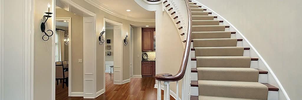 Stair Runners Home Carpet One Chicago | Custom Carpet Runners For Stairs | Wood | Stair Treads | Landing | Carpet Workroom | Flooring