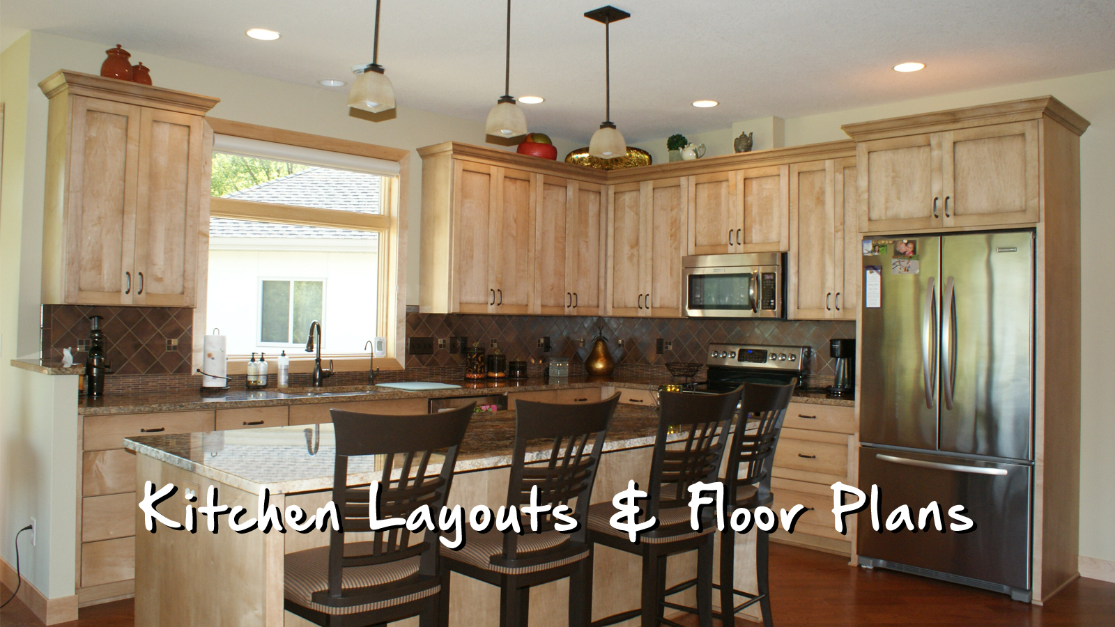 Kitchen Layouts  Floor Plans  Home Check Plus