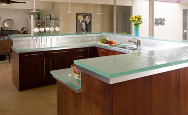 Recycled Glass Countertops 3