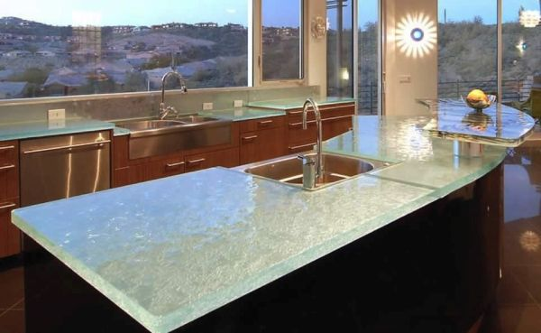 Recycled Glass Countertops (4)
