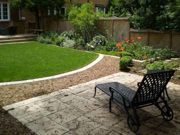 tile backyard