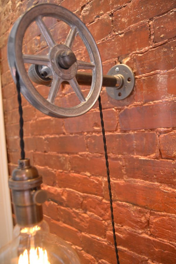 West Ninth Vintage wall light (2)