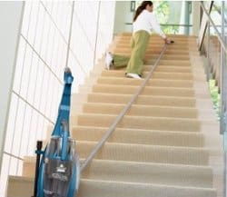 cleaning steps without a cordless