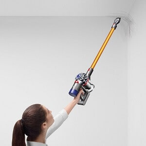 dyson v8 cord free cleans hard to reach areas in your home