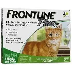 frontline plus flea treatment
