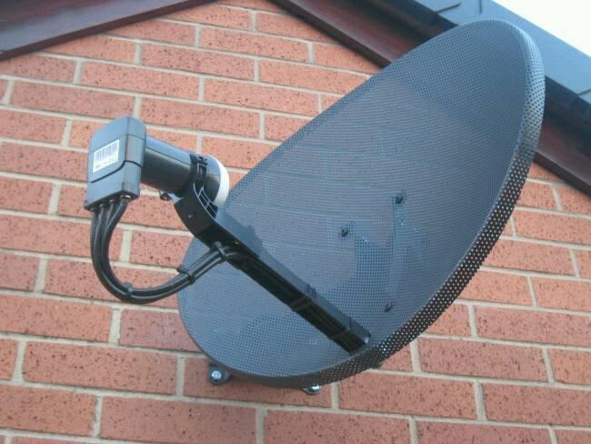 satellite dish Leicester