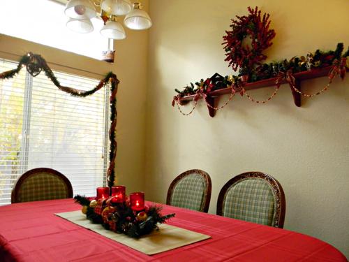 Dining Room 37 Stunning Christmas Décor Ideas
