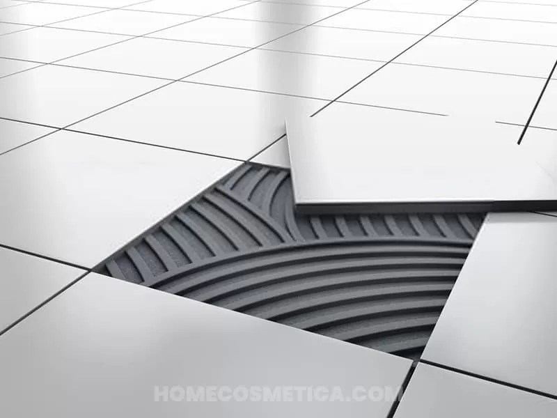 Ceramic tiles for flooring