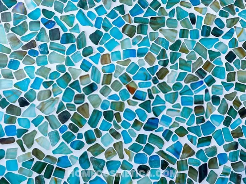 Mosaic tiles for flooring