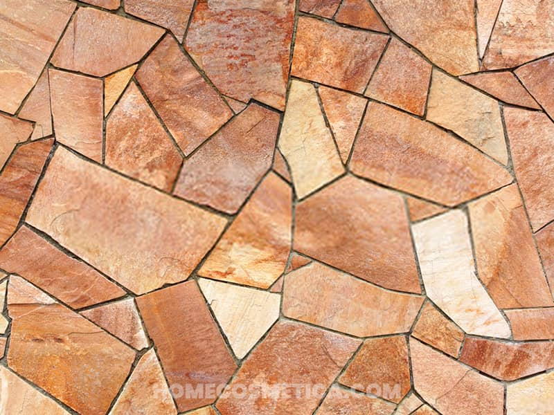 Terracotta tiles for flooring