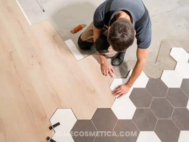 Which tiles are comfortable for flooring