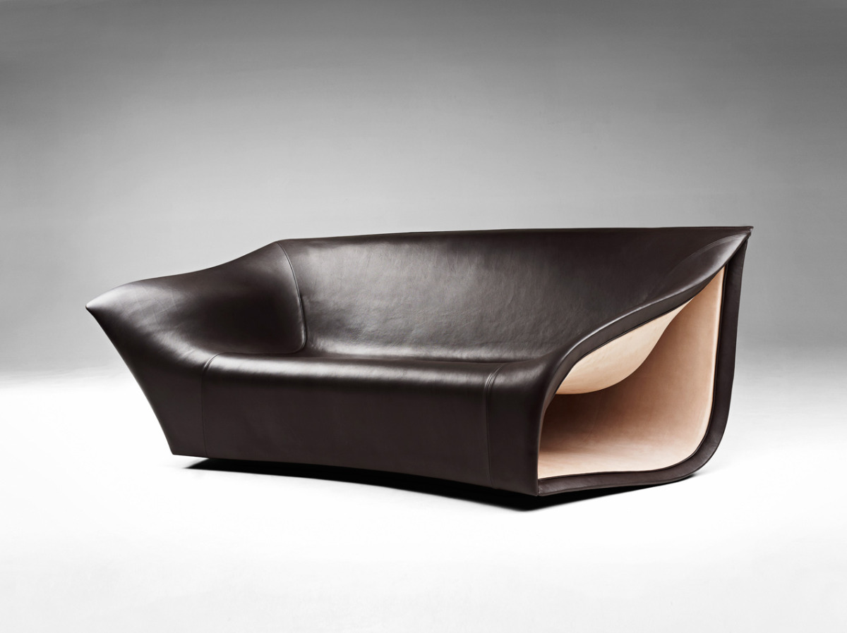 Leather Sofa Chair Split Sofa And Chairs By Alex Hull Have Beautiful Smooth