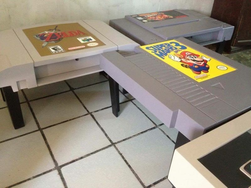 Diy Video Game Coffee Tables Designed To Bring Out Nerd In