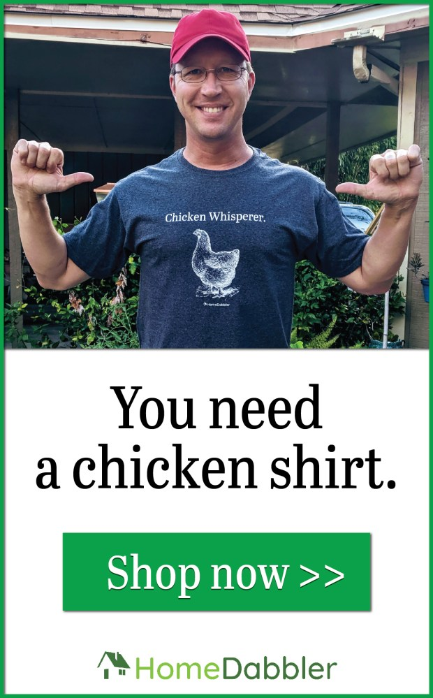 HomeDabbler Store | Cool stuff for chicken raisers and DIY-ers. Hats, t-shirts, mugs, and more.