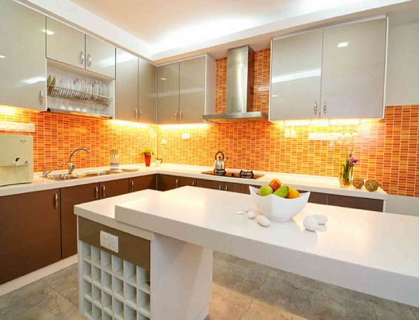 decoration-ideas-nice-white-glossy-kitchen-orange-kitchen-furnitu - Copy