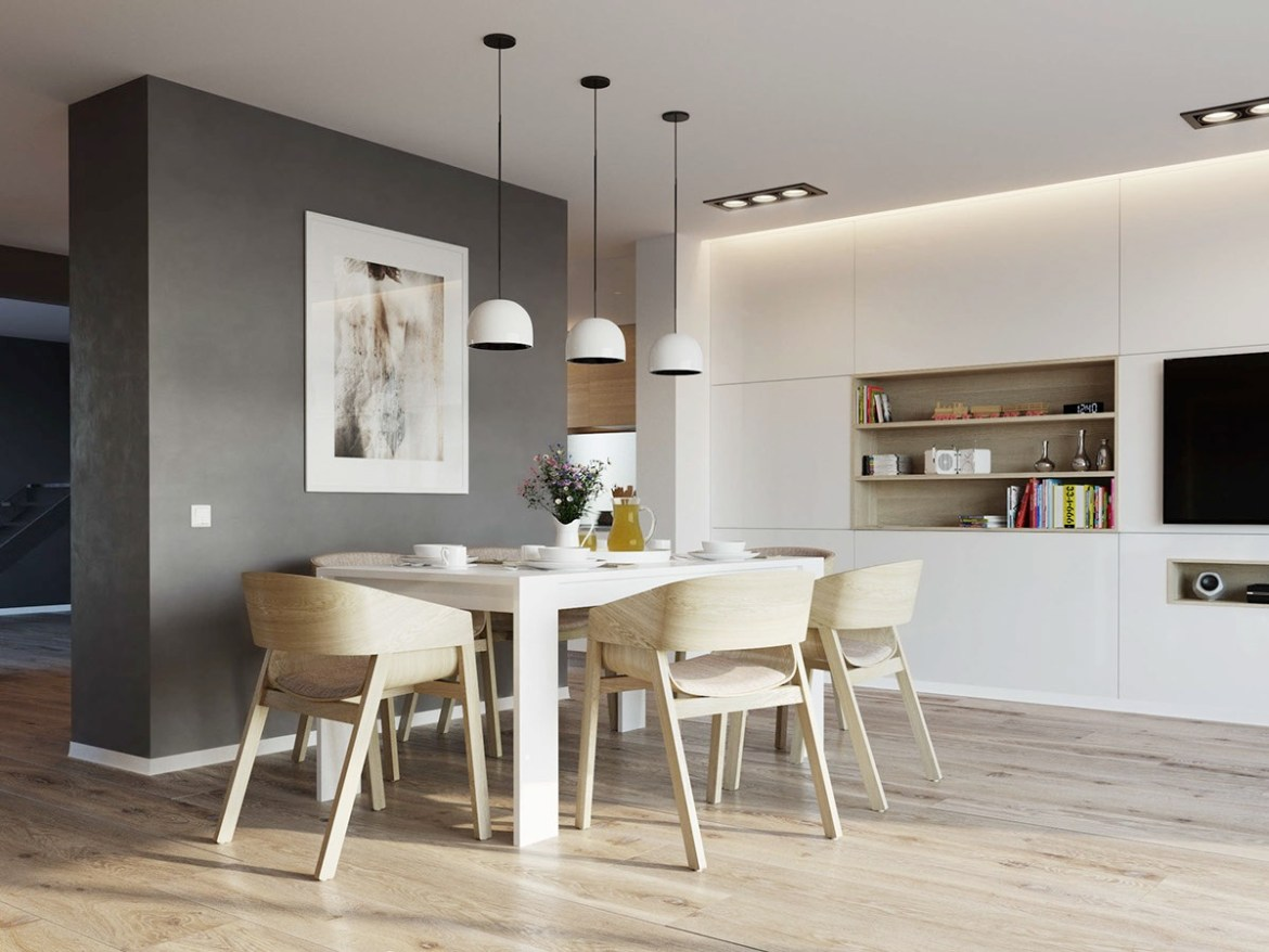 simple-wood-and-gray-nordic-dining-room