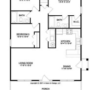 Floor plan for small houses - Home design and style