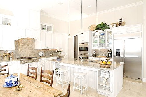 Modern Country Kitchen Home Decorating Tips