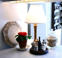 Ideas of Small Kitchen Countertop Lamps | Home Decorating Tips
