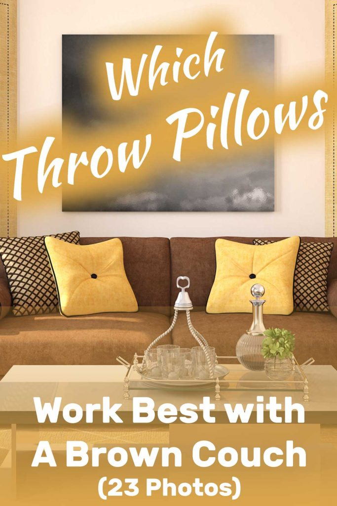 which throw pillows work best with a