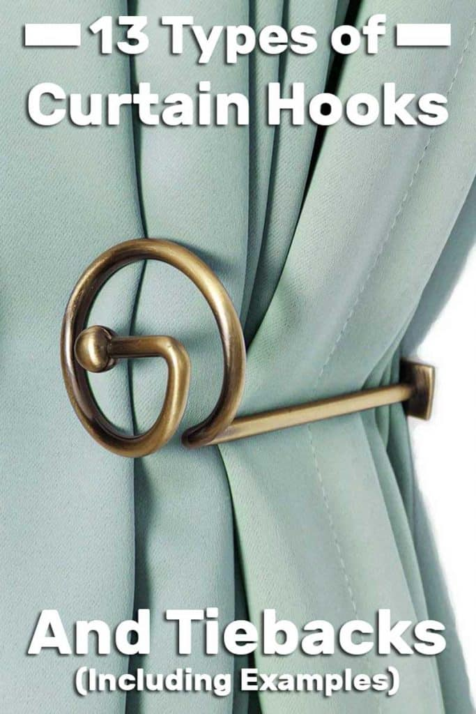 types of curtain hooks