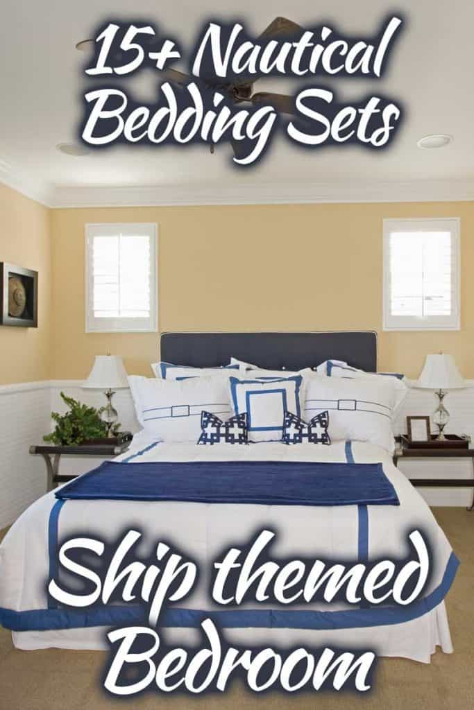 15 nautical bedding sets for our ship
