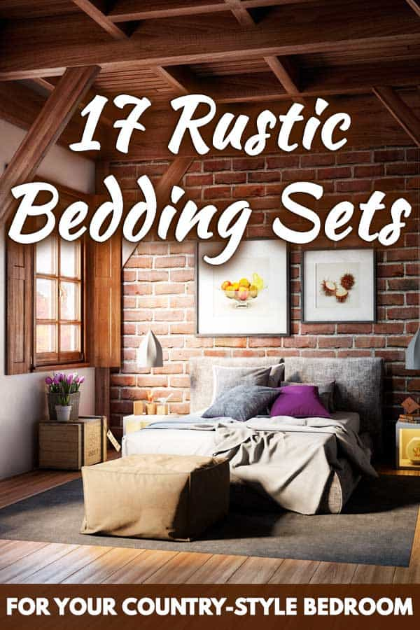 17 rustic bedding sets for your country