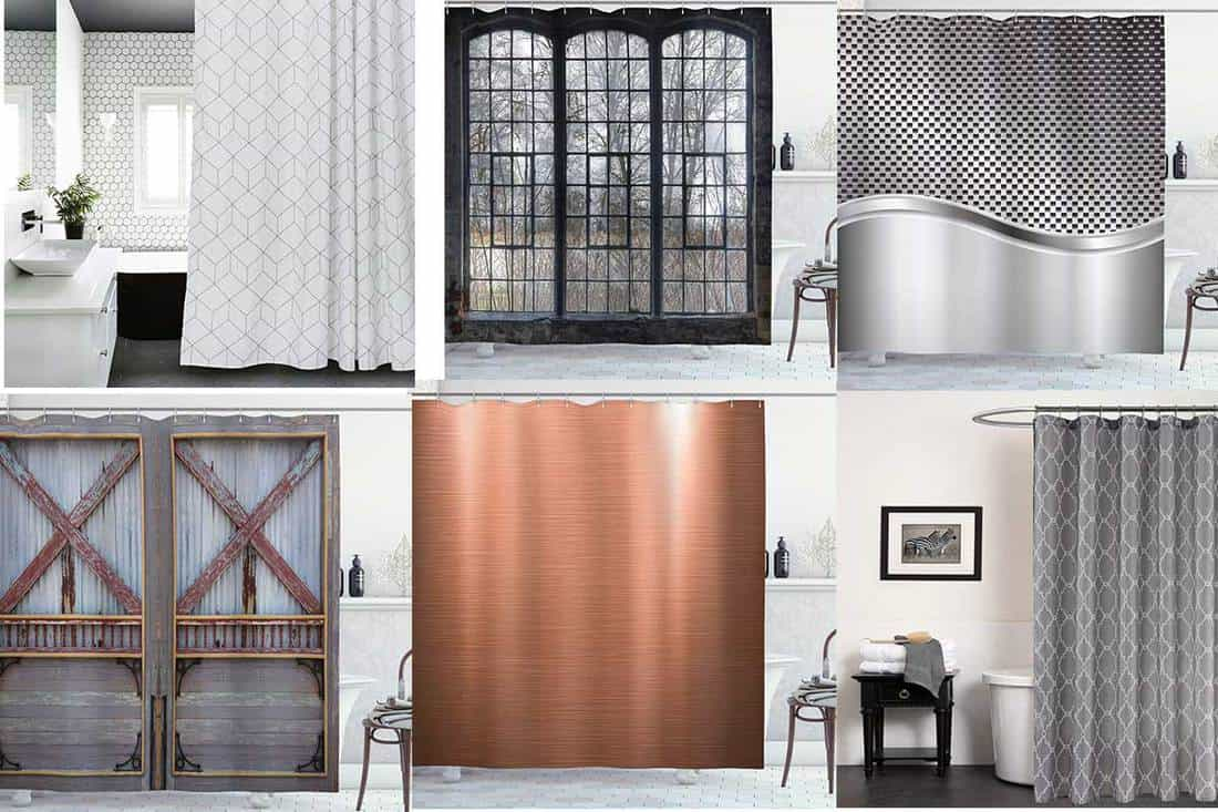 11 industrial shower curtains for a