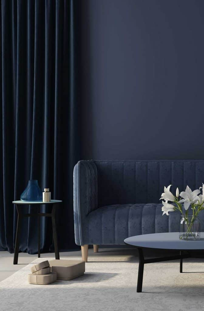 what curtains go with blue walls 15