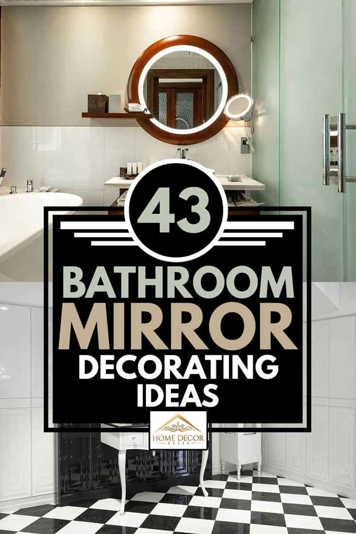 Home Goods Bathroom Mirrors : goods, bathroom, mirrors, Bathroom, Mirror, Decorating, Ideas, Decor, Bliss