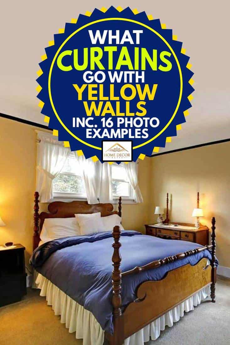 what curtains go with yellow walls