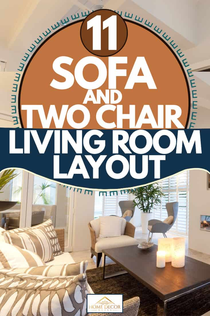 sofa and two chairs living room layouts