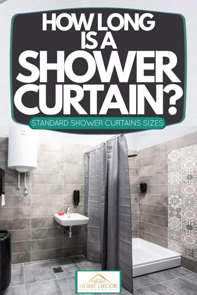 standard shower curtains sizes