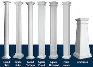 Pillars in Living Spaces