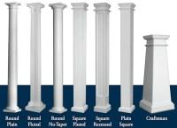 pillars in living rooms