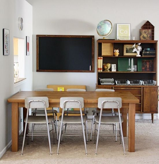 Study Room At Home: Homeschool Study Room Inspirations
