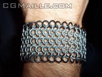 Free chainmaille designs instructions - you can create beautiful jewelry.