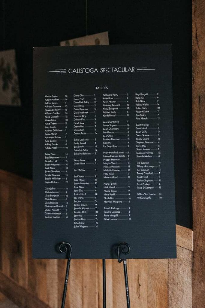 nautical wedding seating chart ideas