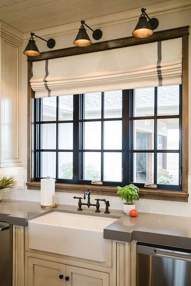 kitchen window coverings ideas