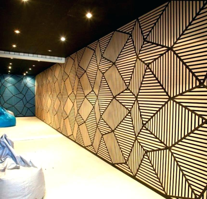 interior cinder block wall covering