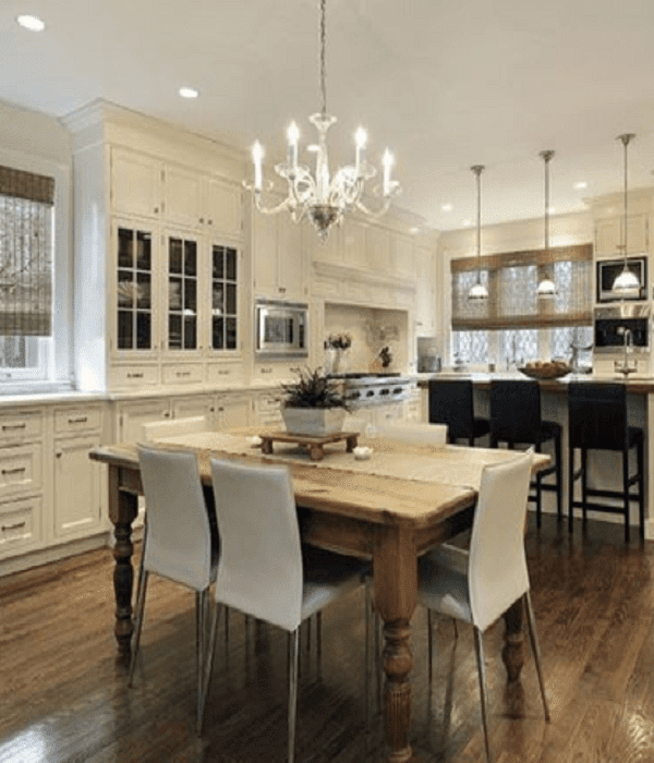 how to antique kitchen cabinets with white paint