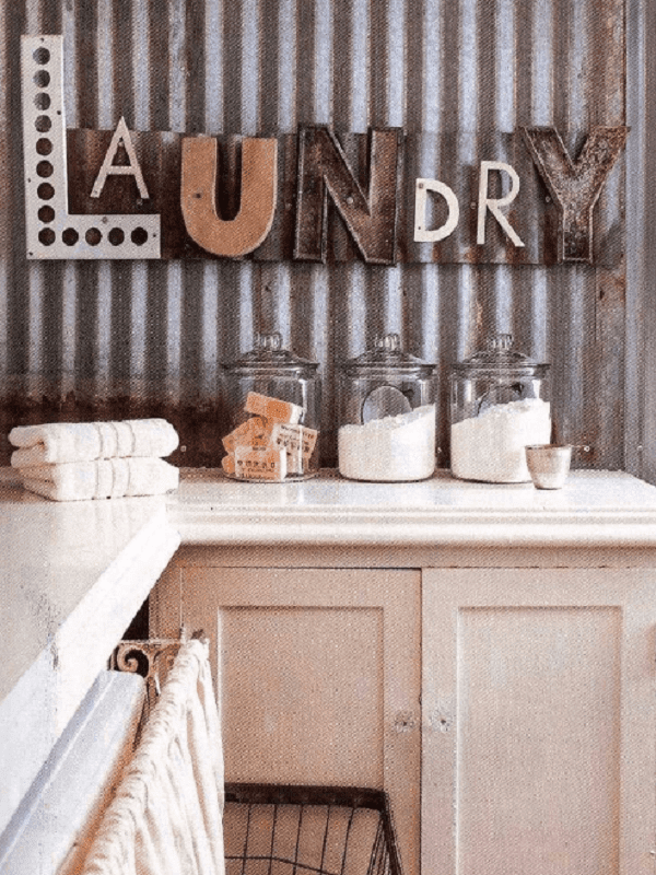20 Pretty Vintage Laundry Room Decor Ideas Retro Style