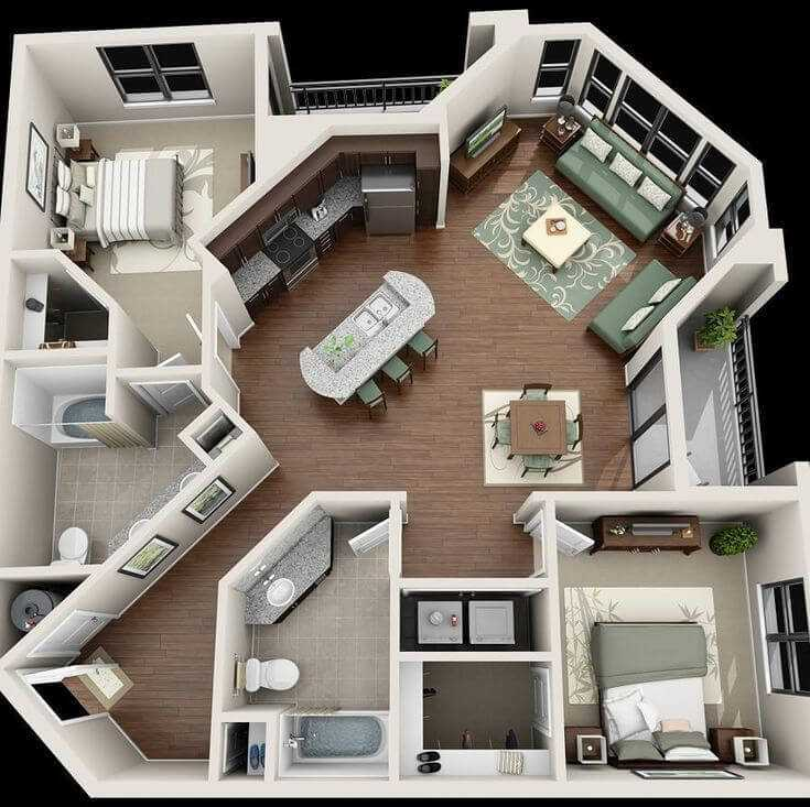 barndominium floor plans with pictures
