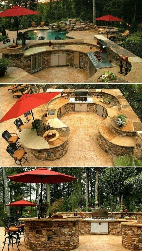 outdoor kitchen ideas diy